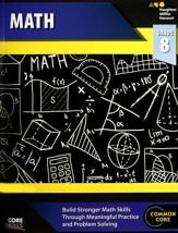 Steck-Vaughn Core Skills Math Workbook Grade 8
