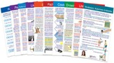 Language Arts Visual Learning Guides  Set, Grade 5 (10 Different Guides)