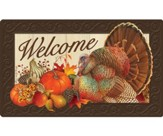 Welcome, Thanksgiving Traditions, Door Mat