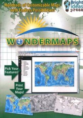 WonderMaps on CD-ROM (2017 Enhanced  Update)