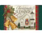 Christmas Blessings, Ring the Bells, Door Mat