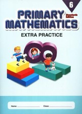 Extra Practice (Standards Edition) for Primary Math 6