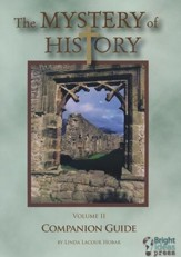 The Mystery of History Volume 2  Companion Guide CD-ROM