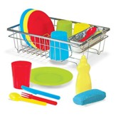 Let's Play House, Wash and Dry Dish Set