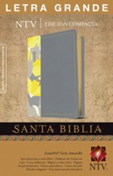 Santa Biblia NTV Letra Grande, Edicion Compacta   (NTV Holy Bible, Large Print Compact Edition) - Slightly Imperfect