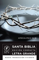 Santa Biblia NTV, Edicion Compacta Letra Grande  (NTV Holy Bible,  Large Print Compact Edition) - Imperfectly Imprinted Bibles