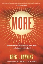 More: How to Move from Activity for God to Intimacy with God