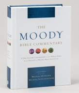 The Moody Bible Commentary  - Slightly Imperfect