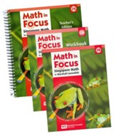 Math in Focus: The Singapore  Approach Grade 2 Second Semester Homeschool Package