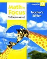 Math in Focus: The Singapore  Approach Grade K Second Semester Homeschool Package