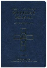 St. Joseph Weekday Missal, Complete Edition, Volume 2, Pentecost to Advent, Blue