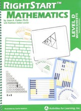 RightStart Mathematics Level D Worksheets, 2nd Edition