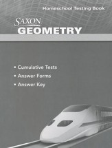 Saxon Geometry Testing Book