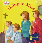 Going to Mass, St. Joseph Beginner Puzzle Book
