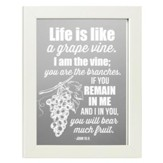 Life is Like a Grape Vine, John 15:5, Mirror