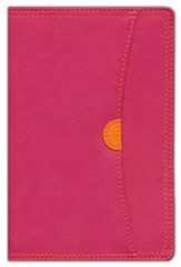 NIV Thinline Zippered Collection Bible, Compact, Italian Duo-Tone, Zipper Closure - Slightly Imperfect