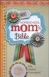 KJV Homeschool Mom's Bible, Hardcover, Jacketed Printed - Slightly Imperfect