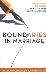 Boundaries in Marriage, Paperback