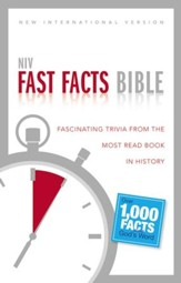 NIV Fast Facts Bible: Fascinating Trivia from the Most Read Book in History, Black