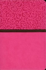 NIV Life Journey Bible: Find the Answers for Your Whole Life, Italian Duo-Tone, Pink/Chocolate
