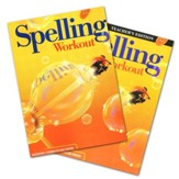 Modern Curriculum Press Spelling Workout Grade 4 Homeschool Bundle (2002 Edition)