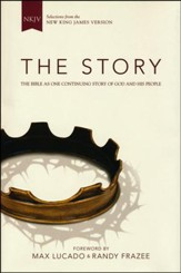 The Story, NKJV: The Bible as One Continuing Story of God and His People, Hardcover, Jacketed Printed - Slightly Imperfect