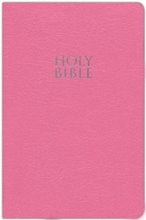 NIV Gift & Award Bible--imitation leather, pink (slightly imperfect)