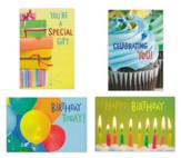 Bright Birthday Cards, Box of 12