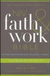 NIV Faith and Work Bible, hardcover - Slightly Imperfect
