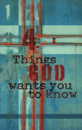 Four Things God Wants You to Know, KJV Tracts, 25