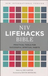 NIV Lifehacks Bible, Hardcover