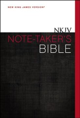 NKJV Note-Taker's Bible, Hardcover - Slightly Imperfect