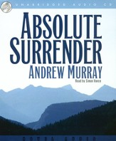 Absolute Surrender - audiobook on CD