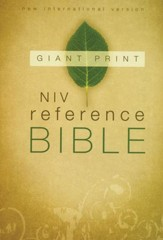 NIV Reference Bible, Giant Print - Slightly Imperfect