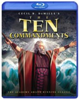 The Ten Commandments: 55th Anniversary Edition, 2 Blu-rays