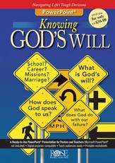 Knowing God's Will PowerPoint® CD-ROM