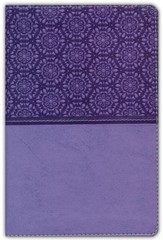 NIV Compact Thinline Bible, Lavender Duo-Tone