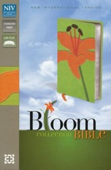 NIV Thinline, Bloom Collection, Tiger Lily Duo-Tone