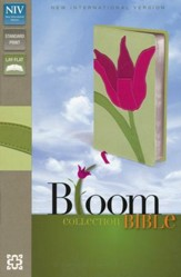 NIV Thinline Bible, Bloom Collection, Tulip Duo-Tone