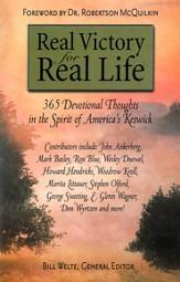 Real Victory for Real Life: 365 Devotional Thoughts in the Spirit of America's Keswick - eBook