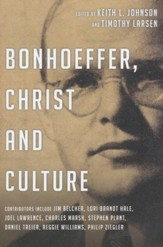 Bonhoeffer, Christ and Culture - eBook
