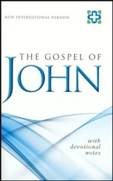 NIV Gospel of John NPKG Single