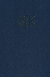 NIV Pew Bible, Hardcover, Navy Blue