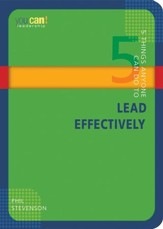 5 Things Anyone Can Do to Lead Effectively - eBook