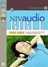 NIV Pure Voice Audio Bible on CD