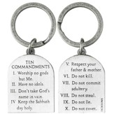 Ten Commandments Keyring