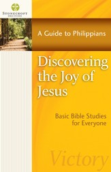 Discovering the Joy of Jesus: A Guide to Philippians - eBook