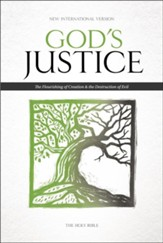 NIV God's Justice: The Holy Bible, hardcover - Imperfectly Imprinted Bibles