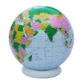 36 Jumbo Inflatable Blue Political Globe