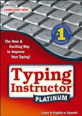 Typing Instructor Platinum on CD-ROM